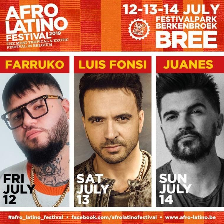 Afro-Latino Festival 2019 -  Du 12 Juillet au 14 Juillet à Bree (Flandre) - Last Night in Orient