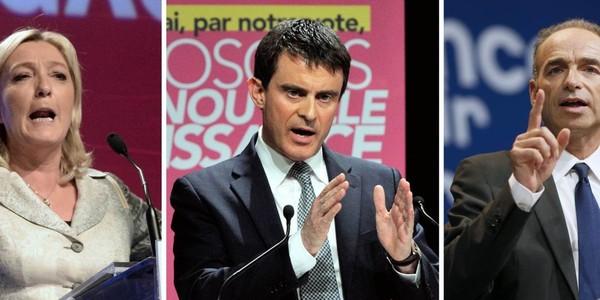 Européennes: le FN triomphe, l'UMP deuxième, le PS décroche