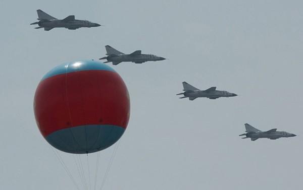 L'aviation nord-coréenne s'entraîne à frapper les porte-avions US