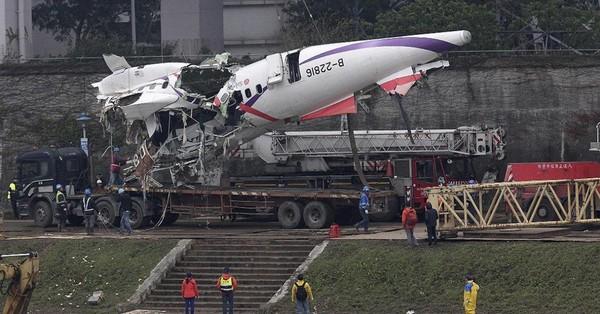 Les deux moteurs à l'arrêt quand l'avion taïwanais s'est écrasé