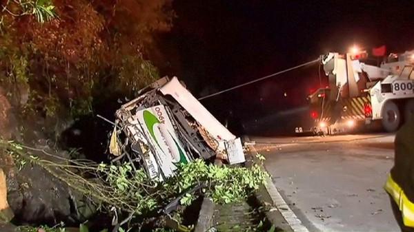 Un accident de bus fait 18 morts au Brésil