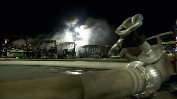 Plusieurs fortes explosions ont secoué les riverains de l'aéroport de Charleroi cette nuit