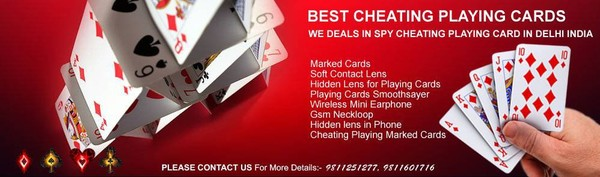 Spy Cheating Playing Cards in Orissa | Marked Playing Card