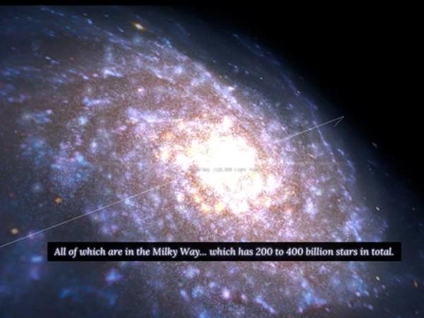 100,000 stars : visitez la Voie Lact�e depuis votre canap� gr�ce � Google