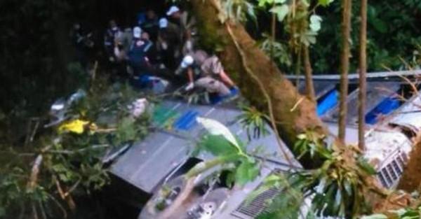 Un autocar tombe dans un précipice au Brésil, 49 morts