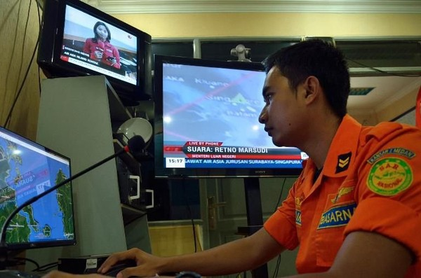 Un avion d'AirAsia avec 162 personnes à bord disparu entre l'Indonésie et Singapour