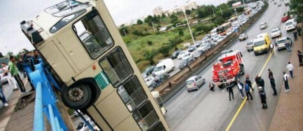 Algérie : renversement d'un bus de transport de voyageurs | Infomédiaire