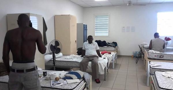 La caserne de la honte à Mayotte