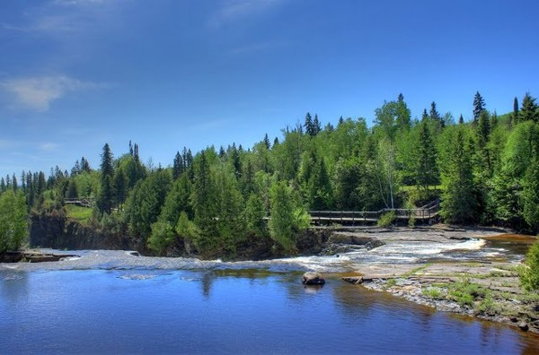 Above the Falls at Kakabeka Falls, Ontario, Canada , #2 « Nice Place To Visit