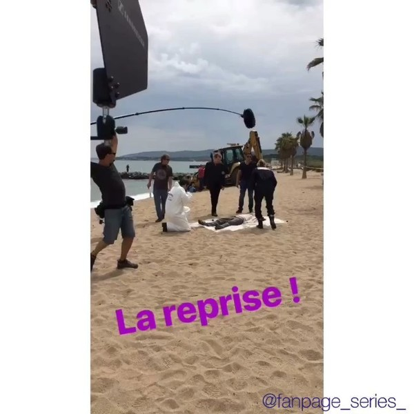 "Katja • Corinne 🤞🏻🥀 on Instagram: ""🔹Section de Recherches 🖤🔹 Reprise du tournage pour la saison 13 😍😍 @xavierdeluc @francksemonin01 @honorinemagnier @elisetielrooyoff �..."