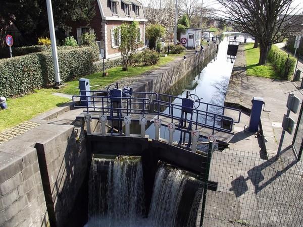 Mes parcours des voies d'eau par Pierre Lemoine: L'Ourthe à Liège