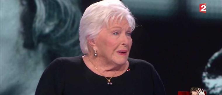 L'émotion déchirante de Line Renaud en évoquant la disparition de Johnny Hallyday (VIDEO) - actu - Télé 2 semaines