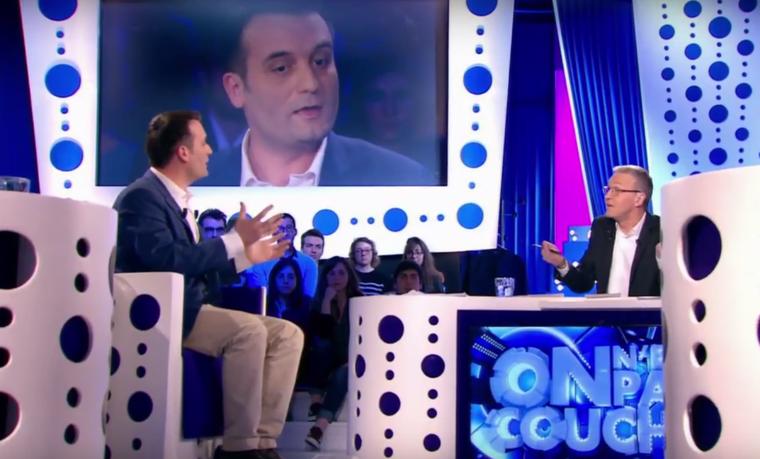 Philippot accuse Ruquier d'être un «militant anti-FN» et son émission d'être un «meeting»