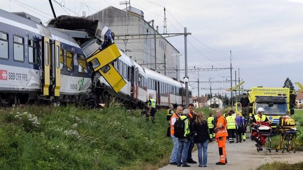 Accident de train en Suisse : la signalisation n'aurait pas été respectée