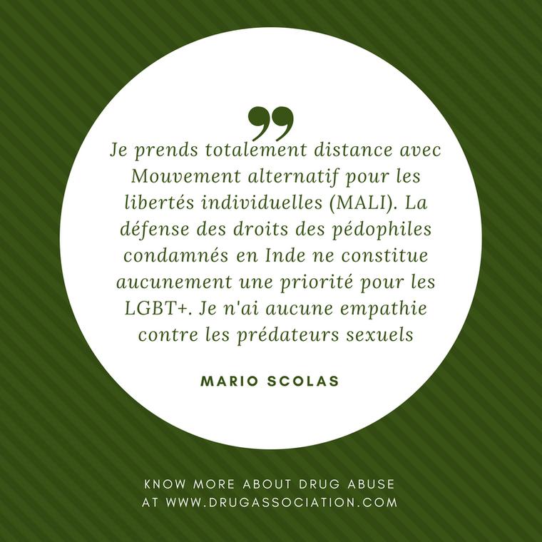 Je prends totalement distance avec Mouvement alternatif pour les libertés individuelles (MALI) - LNO