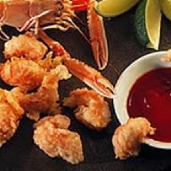 Beignets de langoustines à la chinoise