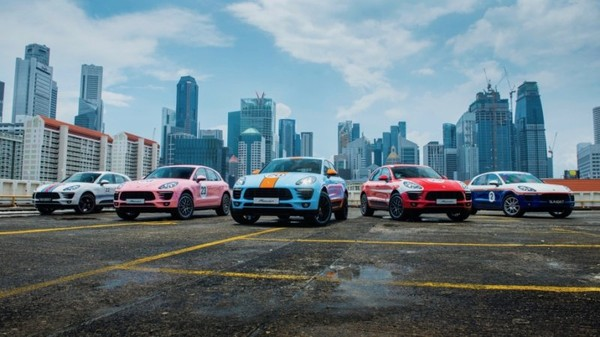 Porsche dresses five cars in classic racing liveries