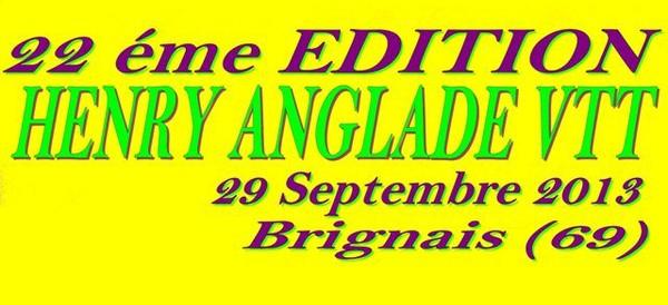 22 éme Henry Anglade VTT Dimanche 29 Septembre 2013