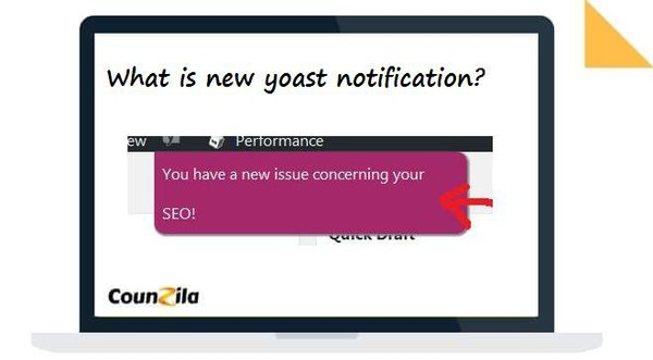 What is new yoast notification 2017.