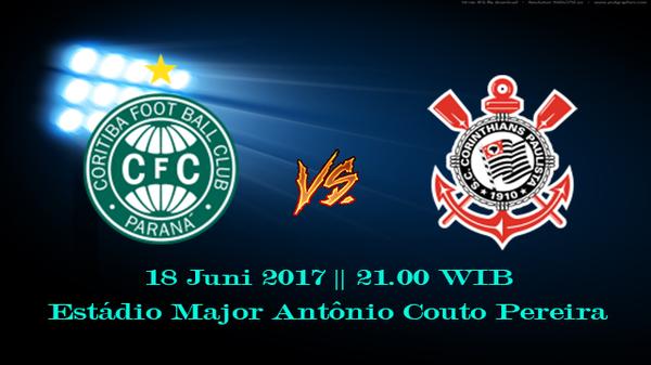 Prediksi Coritiba vs Corintians 18 Juni 2017