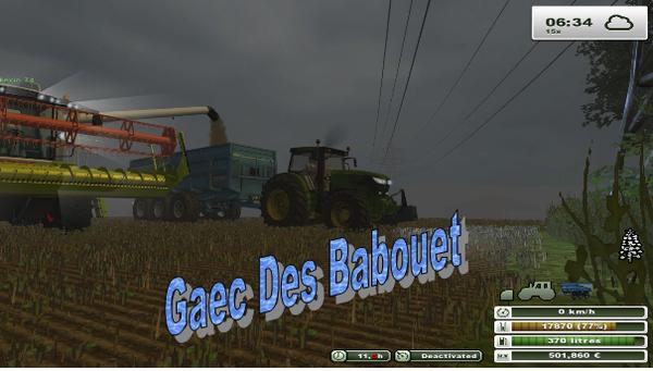Gaec Des Babouet :: Club sérieux farming simulator 2011, 2013