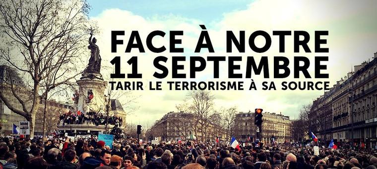 Face à notre 11 septembre: tarir le terrorisme à sa source