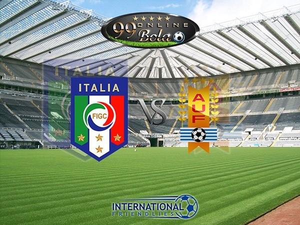 Prediksi Italia Vs Uruguay 8 Juni 2017