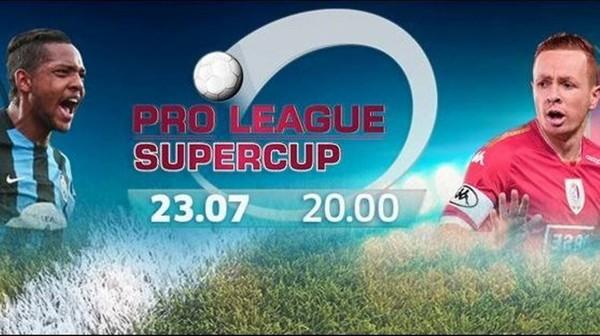 Bruges-Standard : La Supercoupe en direct (LIVE vidéo 19h55)