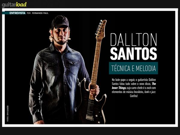 Dallton Santos na Guitar Load #61 || DALLTON SANTOS || Official Website