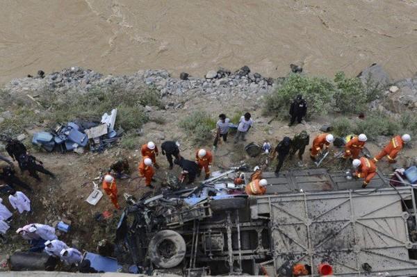 Accident d'autocar au Tibet: 44 morts, 11 blessés | Asie & Océanie