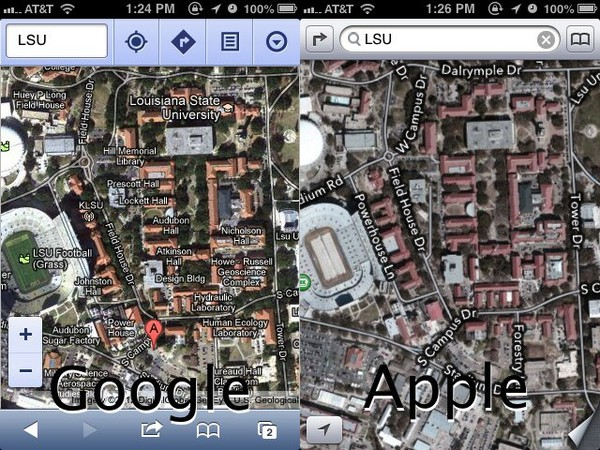 The Amazing iOS 6 Maps