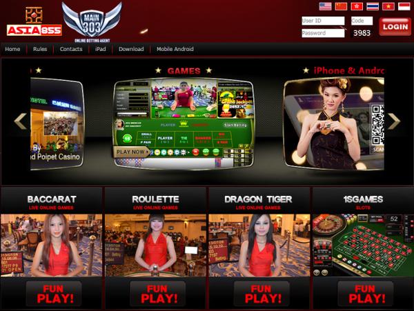 Judi Live Casino Asia855 Online
