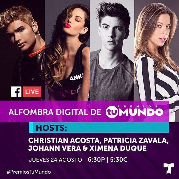 Instagram post by @premiostumundo • Aug 8, 2017 at 4:50pm UTC