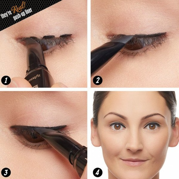 Very cool tips on easiest eyeliner to apply - NICE PLACE TO VISIT
