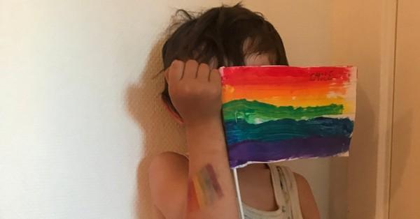 """""""Le jour où l'école de mon fils de 4 ans a organisé une mini-pride"""""""
