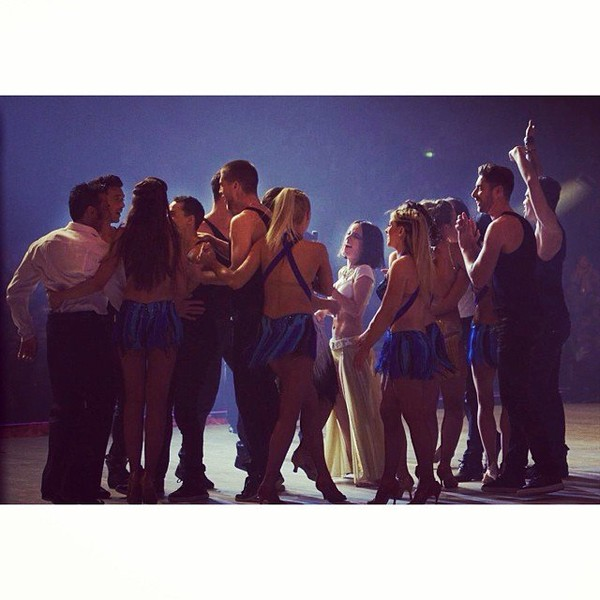 .@alizeeofficiel | In love with my dals family ️ #dals #tournee photo: @bilitispoirier | Webstagram