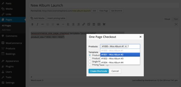 WooCommerce One Page Checkout 1.4.0 Extension - Get Lot