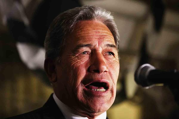 'This is no winebox - this is a truckload' - Winston Peters