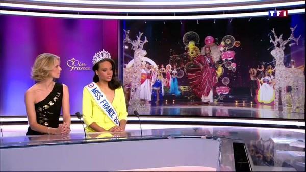 Alicia Aylies, Miss France 2017, est l'invitée du 13H de TF1