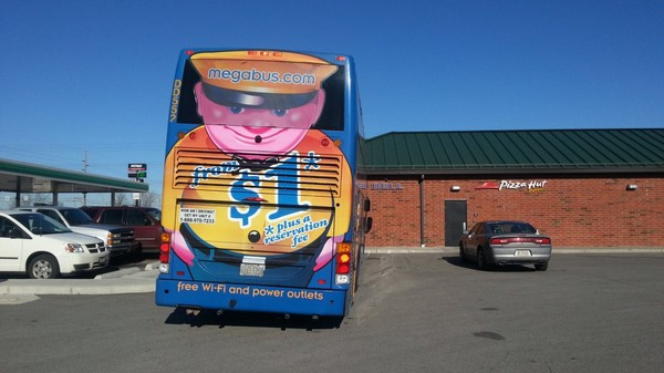 Indiana police take unsafe Megabus out of service