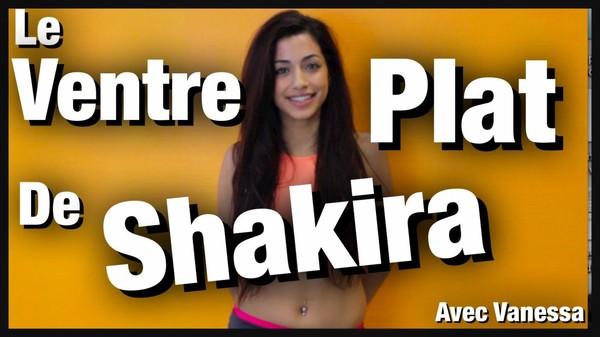 Le VENTRE PLAT de SHAKIRA : entrainement COMPLET by Bodytime