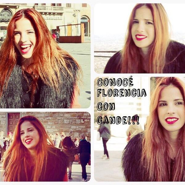 """Cande Molfese on Instagram: """"Quien no vio todavía mi nuevo video ???? http://www.fwtv.tv/candemolfese/diario-de-viaje-by-candelaria-hola-florencia-soy-cande"""""""