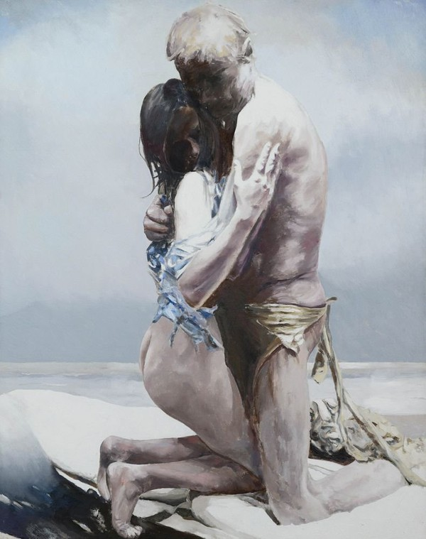 Exposition Art Blog: Balcomb Greene - Abstract Figurative Paintings