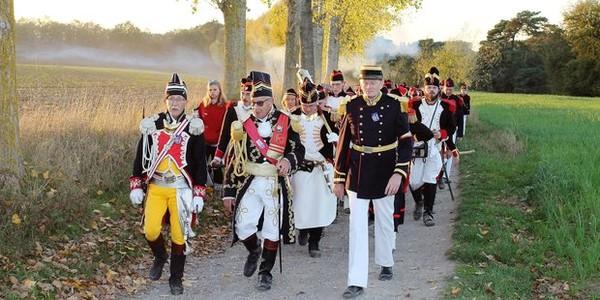 Gerpinnes: le tour Ste-Rolende des marcheurs, retour 54 ans en arrière
