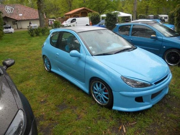 Peugeot 206 2l s16 tuning Voitures Charente - leboncoin.fr