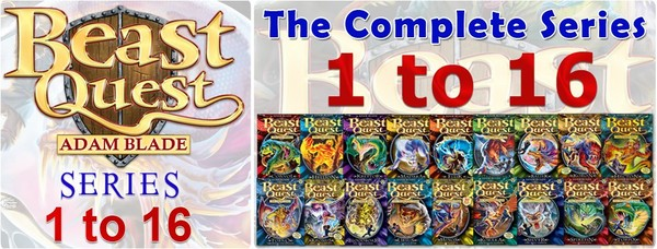 Beast Quest The Complete 16 Beast Quest Series - Chapter Books 1 to 90
