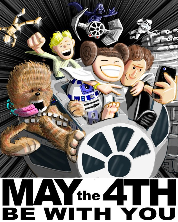 May the 4th be with you! ^_^