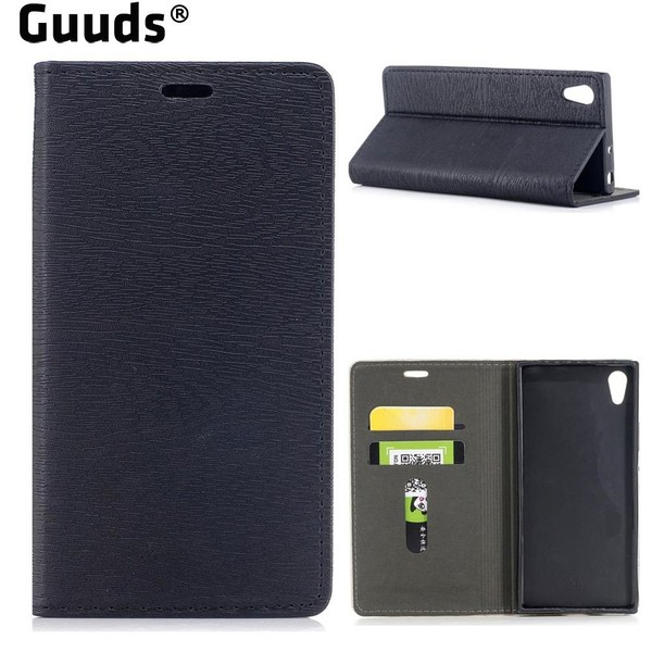 Aliexpress.com : Buy For Sony Xperia XA1 XA1Ultra Phone Cover Tree Bark Pattern Automatic suction Leather Wallet Case for Sony Xperia XA1 Ultra from Reliable leather wallet case suppliers on GUUDS ...