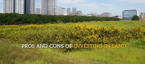 Pros and Cons of Investing in Land - Favista Real Estate Blog
