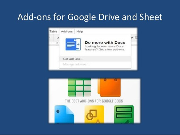 9 useful add ons benefits for Google Docs